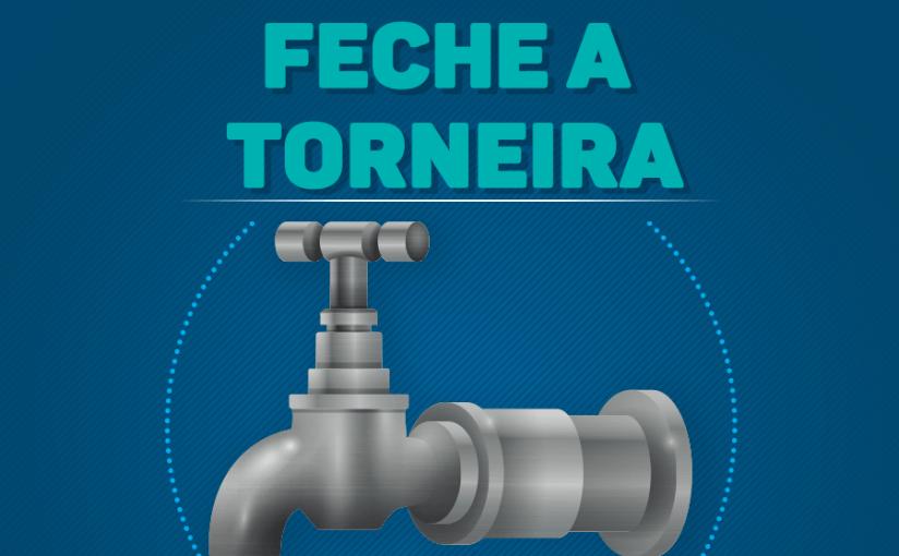 Economize água durante a greve doscaminhoneiros