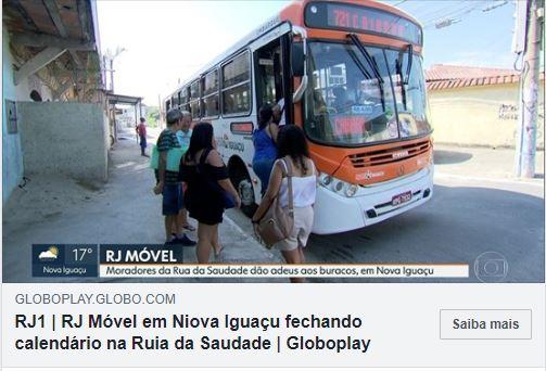RJ Móvel na Rua da Saudade, em JardimEsplanada