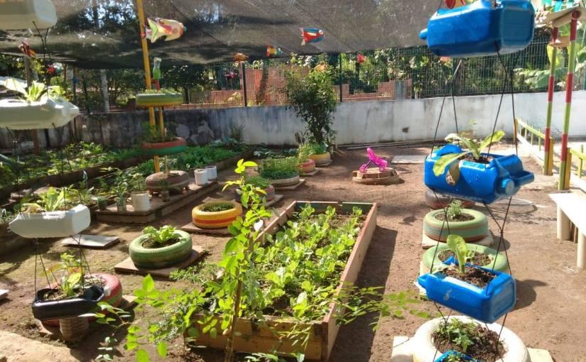 Iniciativa da escola rural produzida pelos alunos da EM JardimMontevideo