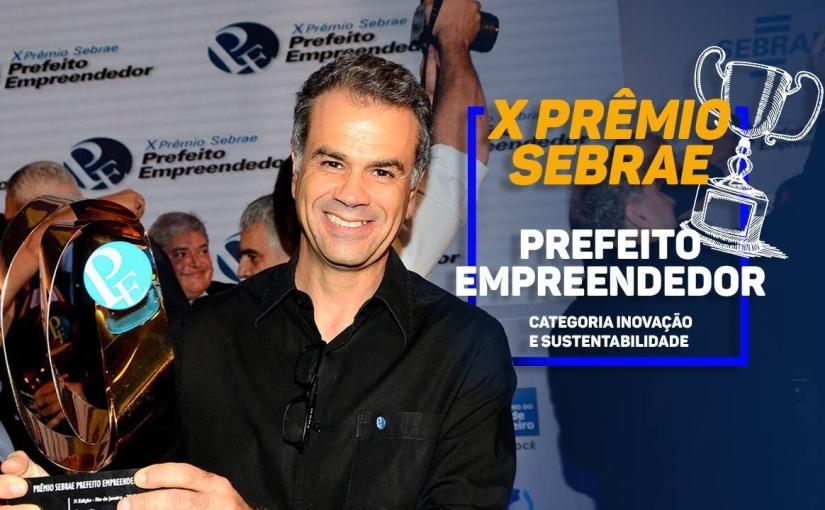Vencemos o Prêmio Sebrae de PrefeitoEmpreendedor!