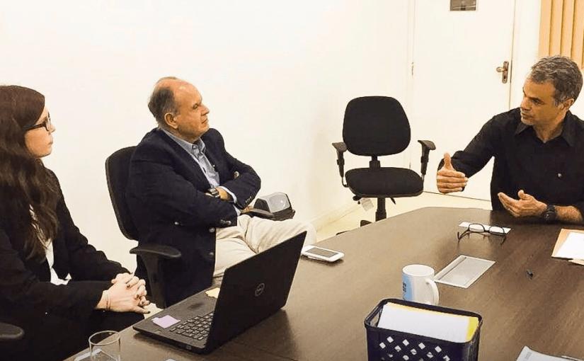 Reunião com representantes doSírio-Libanês