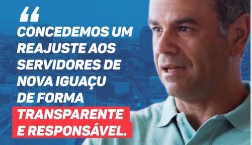 Reajuste dos servidores municipais de NovaIguaçu